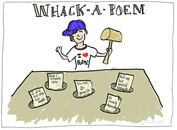 Whack a Poem Poetry Comic