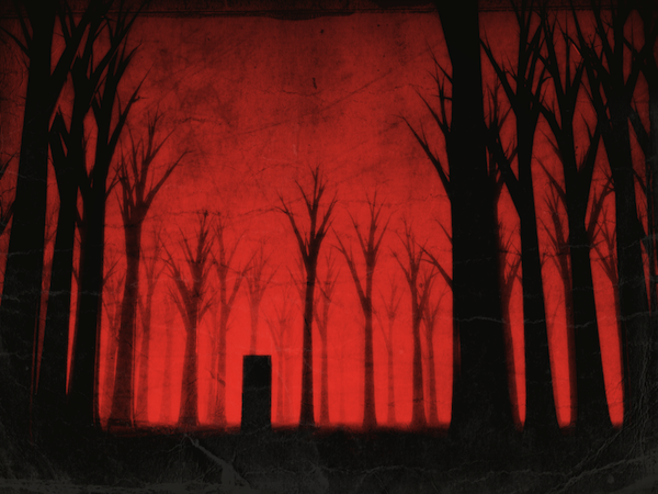 Graveyard in the Red Woods Halloween Spooky How to Write a Halloween Poem